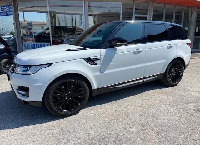 RANGE ROVER SPORT 3.0 SD HSE DYNAMIC completo